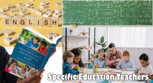 Specific Education Teachers
