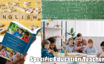 Specific Education Teachers